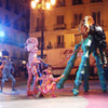 PERFORMANCES TEATRO DE CALLE. TEATRO Y CIRCO IMAGINARIO. ESPECTACULO DE IMPACTO VISUAL.