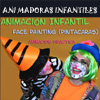 FACE PAINTING Y ANIMACIN INFANTIL PARA CUMPLEAOS, COMUNIONES, FIESTAS INFANTILES