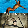 DO DE ACRBATAS :: TELAS ACRBATICAS :: CAPOEIRA ACROBTICA :: ACCIONES VISUALES EN EVENTOS