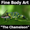 Performance Camaleon - Chameleon Performance body Art